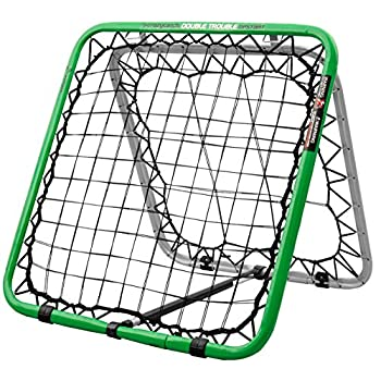 Image of Ball Returns & Guard Nets Crazy Catch Upstart 2.0 Double Trouble Sport Rebounder Net