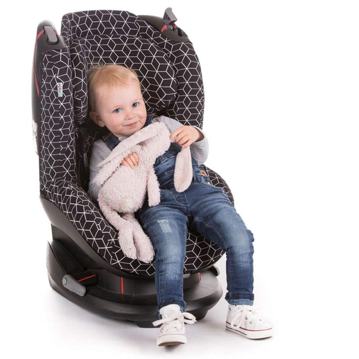 Bezug Maxi-Cosi AxissFIX Kindersitz Schwarz einfarbig Schwei/ßabsorbierend und weich f/ür Ihr Kind Sch/ützt vor Verschlei/ß und Abnutzung /Öko-Tex 100 Baumwolle