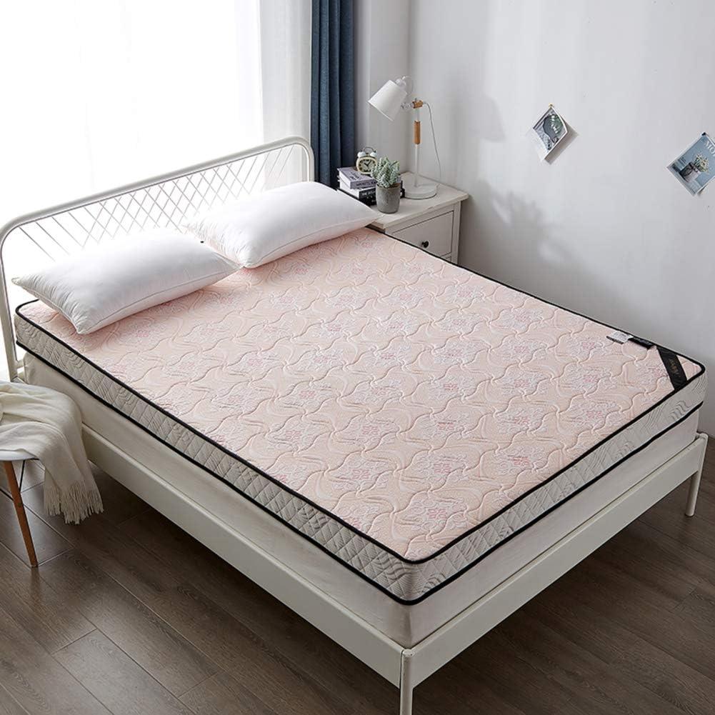 GWW Memory Foam Floor Mattress, Thicken Natural Latex Bed Mattress Folding Breathable Sleeping Tatami Floor Mat for Student Dormitory Mattress Topper-d 135x190cm(53x75inch)