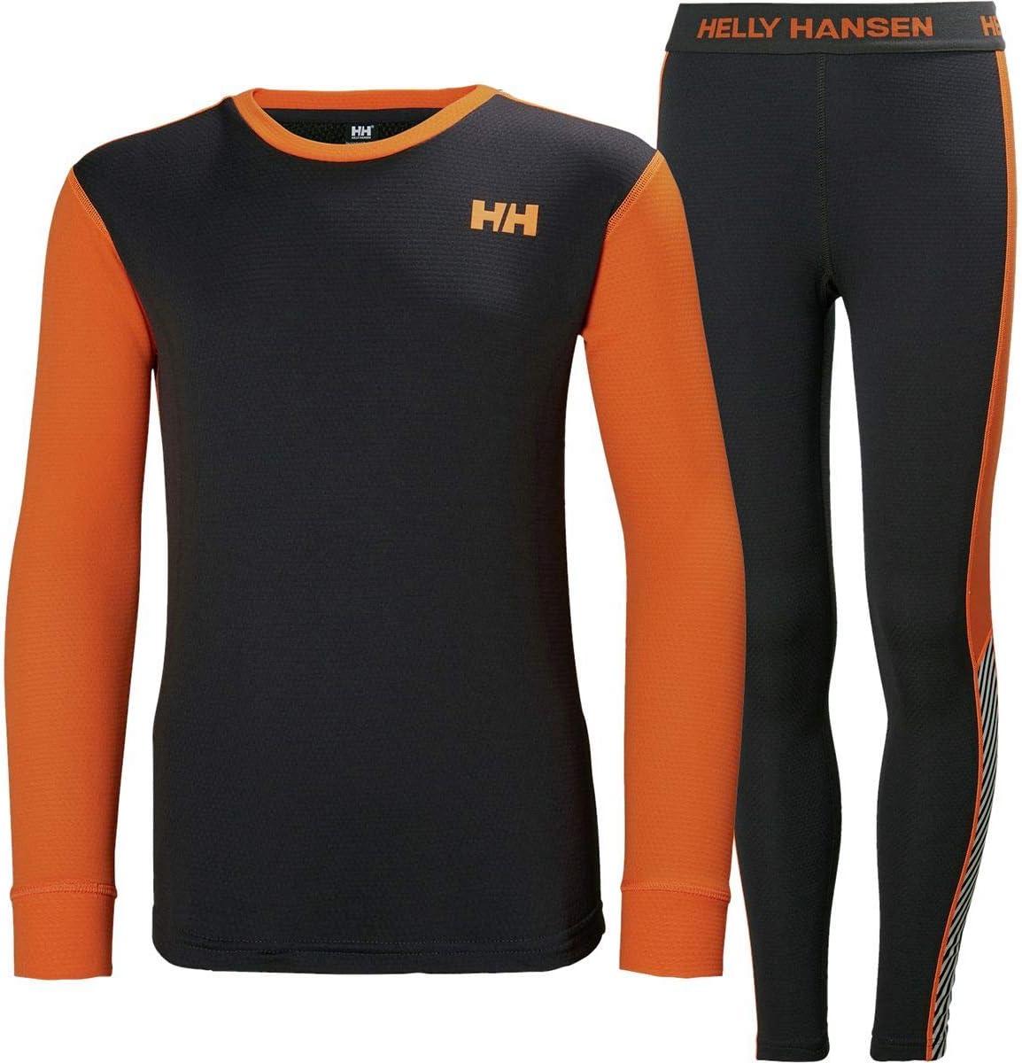 Helly Hansen Hh LIFA Active Set Baselayer Lightweight 2-Layer Crewneck Thermal Baselayer Set