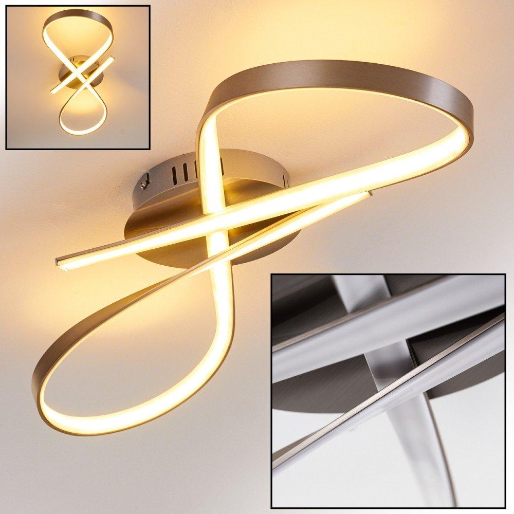 LED Deckenleuchte Arlena – extravagantes Design mit ...