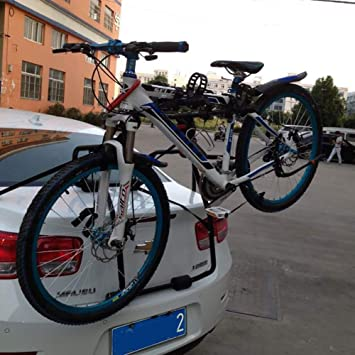 XINGXINGNS Portabicicletas Trasero, Bicicleta Coche Almacenamiento ...