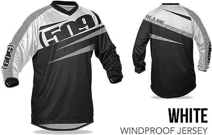 White - Small KLIM 509 Windproof Jersey