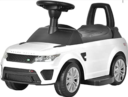 Amazon Com Best Ride On Cars Range Rover Sport Svr 6v White Toys
