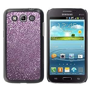 Caucho caso de Shell duro de la cubierta de accesorios de protección BY RAYDREAMMM - Samsung Galaxy Win I8550 I8552 Grand Quattro - Pink Reflective Dust Winter X-Mas