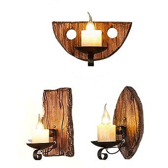 Retro Wohn Schlaf Zimmer Beleuchtung Holz Lese Nacht Tisch Lampe Leuchte schwarz
