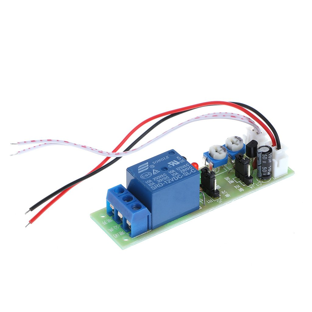Timer Relay 12v Dc Infinite Cycle Delay Timing On Off Switch Time Circuit Module W Vehicle Electrical Loop Trigger