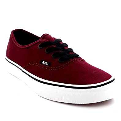 8edc56688a37f2 Vans Mens Authenic Lace Up Low Rise Casual Skate Shoes Plimsoll Sneakers - Port  Royale
