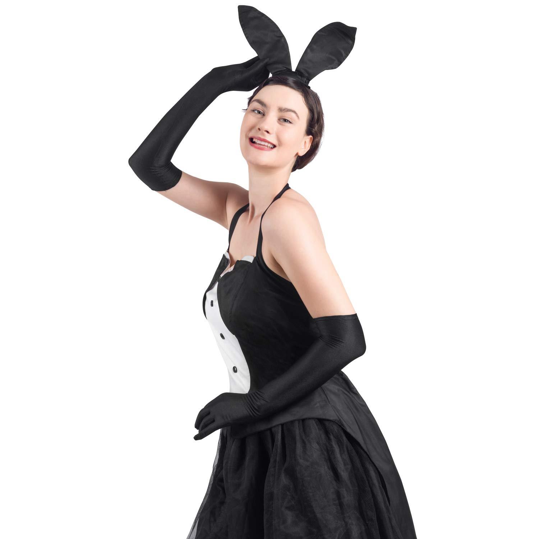 YaMeiDa Women\'s Bunny Costume Sexy Halloween Cosplay Tuxedo Party Dress Up Costume -XXL