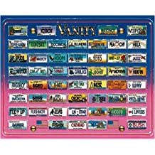 Vanity Plates Jigsaw Puzzle 1000pc by American Puzzles