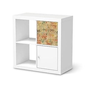 Papel adhesivo decorativo muebles amazing ideas para pintar y decorar las puertas de los - Papel decorativo ikea ...