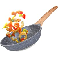 Caannasweis Nonstick Stone Frying Pan with Soft Touch Handle