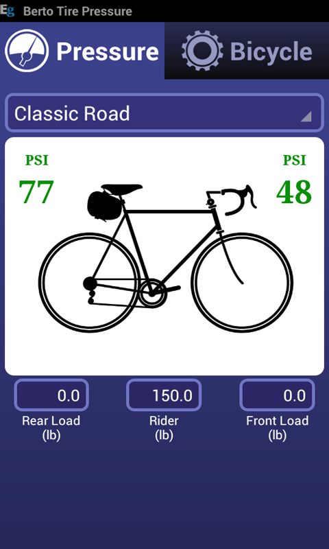 Amazon Com Bicycle Tire Pressure Calculator Appstore For Android