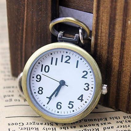 XLL-lele Reloj de Bolsillo de Reloj de Enfermera Llavero ...