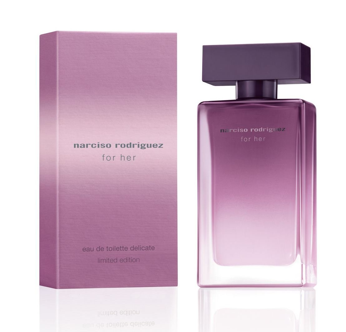 Narciso Rodriguez Limited Edition Eau de Toilette Delicate Spray for Women, 4.2 Ounce