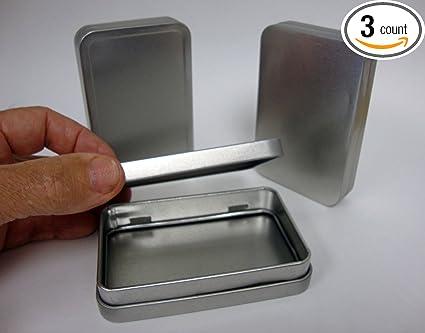 Military Army Camping Bushcraft Survival EDC Aluminium Waterproof Tin Case Box