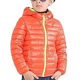 [美しいです] ボイ キッズ コート フード付き ダウンコート カジュアル 保温性 軽量 かわいい 防寒 防風 厚手
