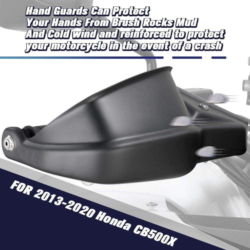 FATExpress CB500X Accesorios Motocicleta Moto Rueda Delantera Neum/ático Hugger Guardabarros Fender Extender Extension para Honda CB 500X 2019 2020 19-20