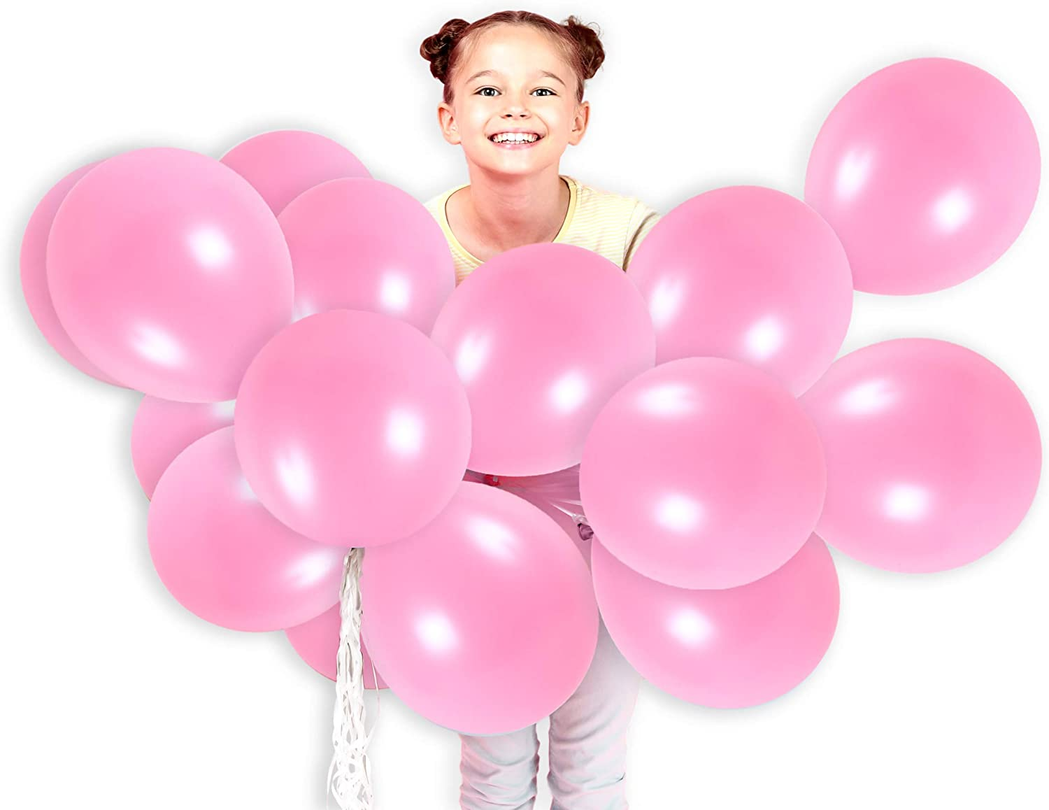 Photo Decoration Balloon. Birthday Beach Assorted Colored Balloons Bulk Made Strong Latex Helium Air Use Wedding Party 100 Pcs Party Balloons 10 Inches Rainbow Candy Color Balloons 100