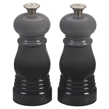 Le Creuset MG510-7F Petite Salt and Pepper Mill Set, 5 , Oyster