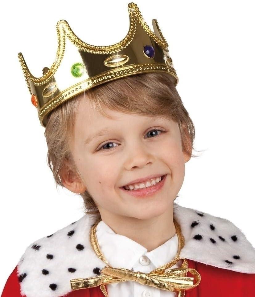Re principe CORONA RE CORONA principe CORONA CARNEVALE CORONA Imperatore Berretto Costume