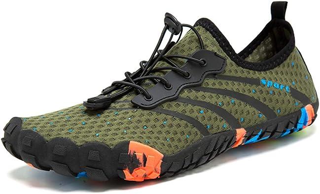KATOOE Mens Womens Water Shoes