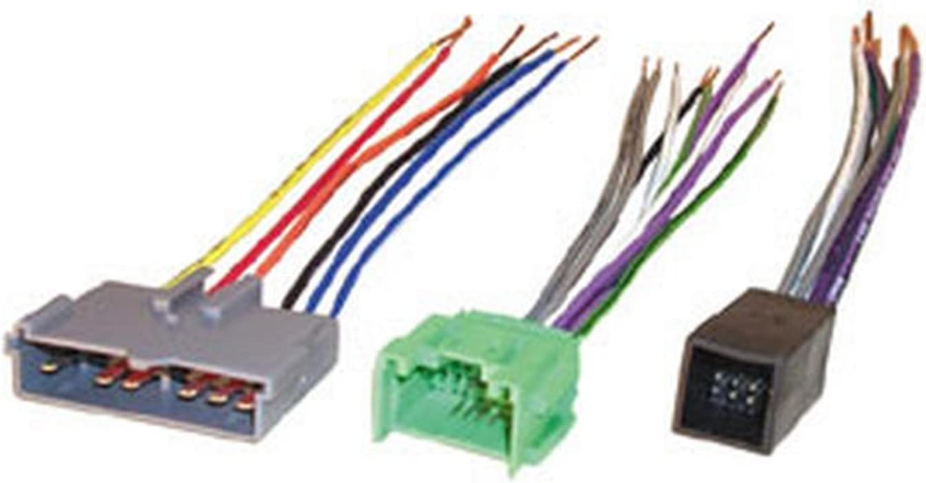 SCOSCHE FDK10B Car Speaker Wiring Harness Connector Kit Compatible with Select 1988 to 1997 Ford, Lincoln, Mazda and Mercury Vehicles