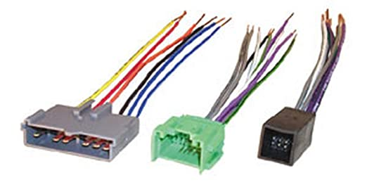 Amazoncom Scosche FDK10B Wire Harness to Connect An Aftermarket