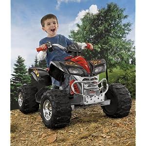 Power Wheels Kawasaki KFX, Chrome Accents