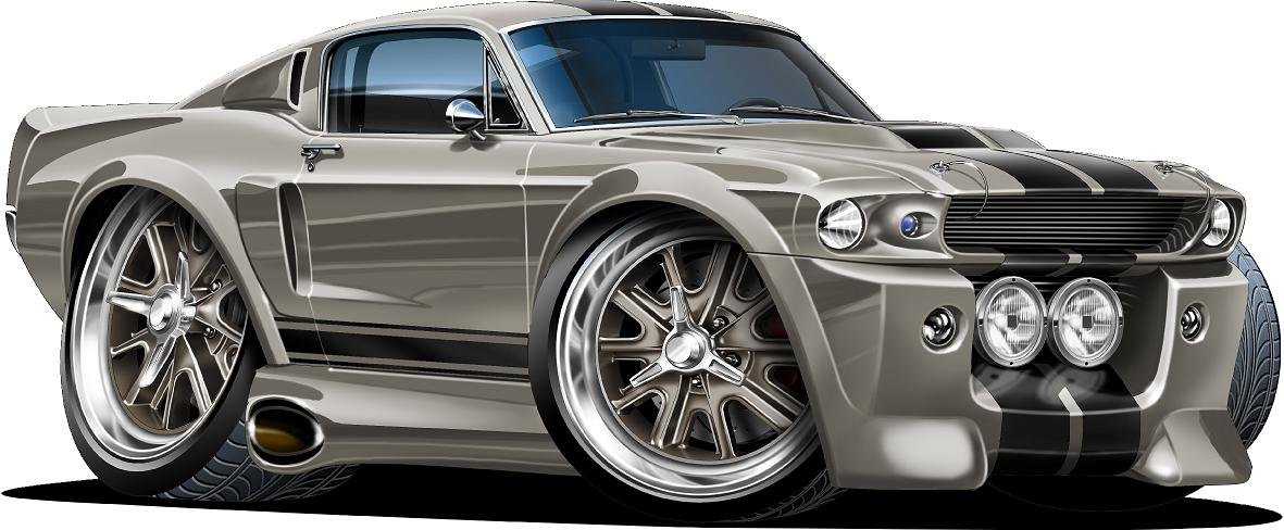 Amazoncom 18 Shelby Mustang Gt 500 Eleanor Wall Decal Ford