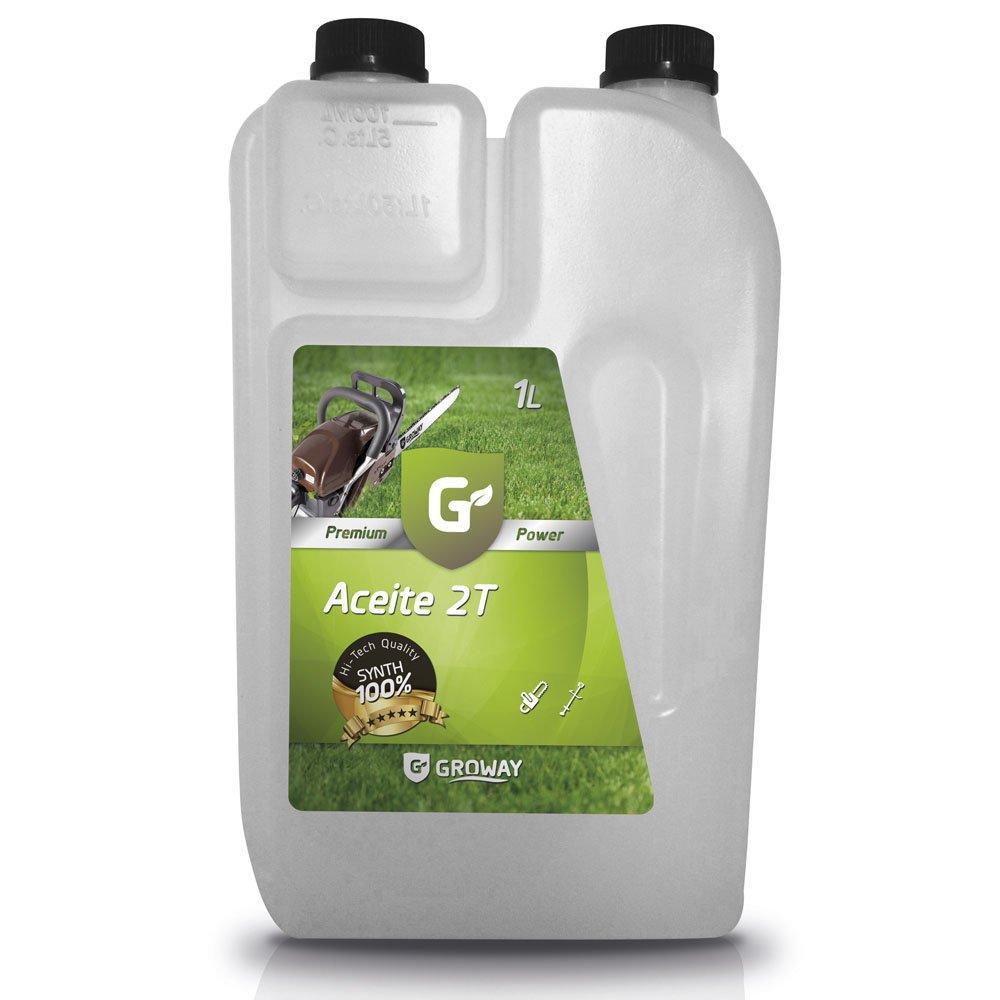 Groway Premium Power - Aceite para motor 2T sintético 1 L con ...
