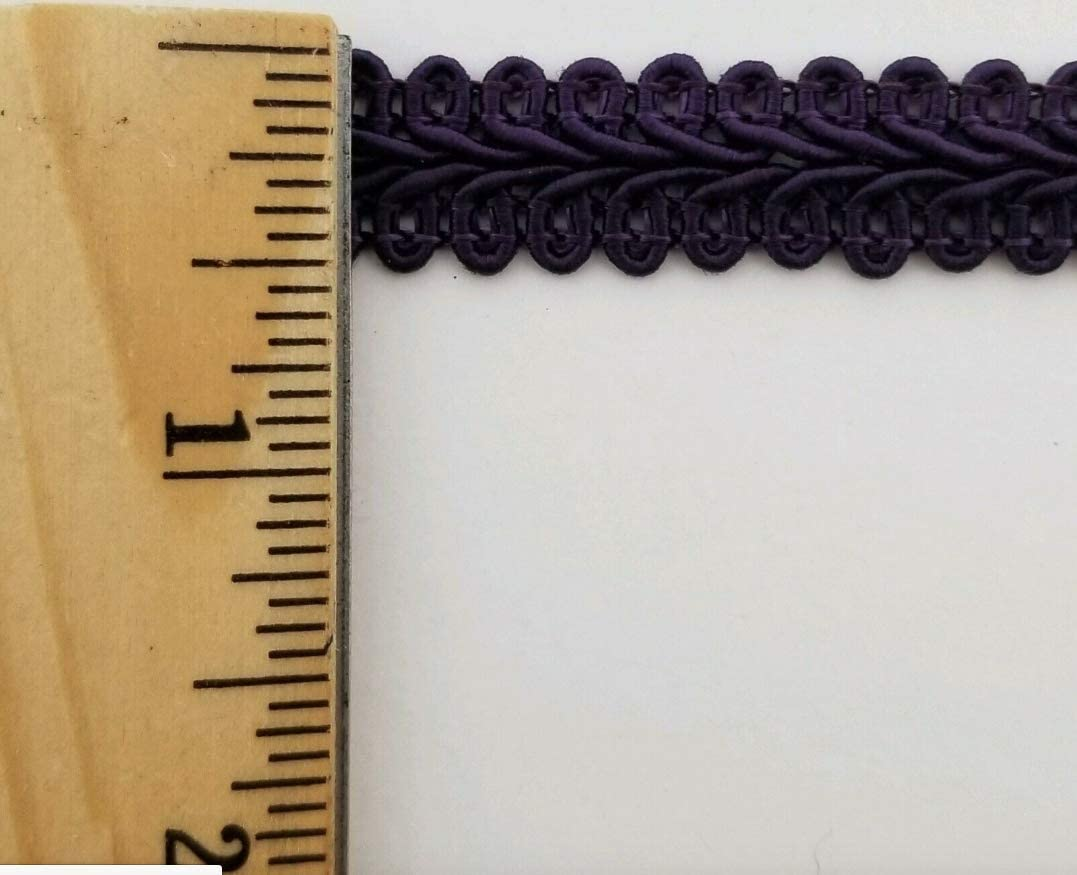 Sage 1//2 Chinese French Braid Gimp Trimming 12 Continuous Yards Many Colors!