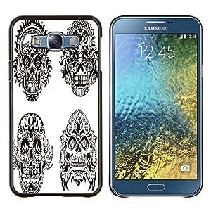 Dragon Case - FOR Samsung Galaxy E7 E7000 - Life ain??t no joke - Caja protectora de pl??stico duro de la cubierta Dise?¡Ào Slim Fit