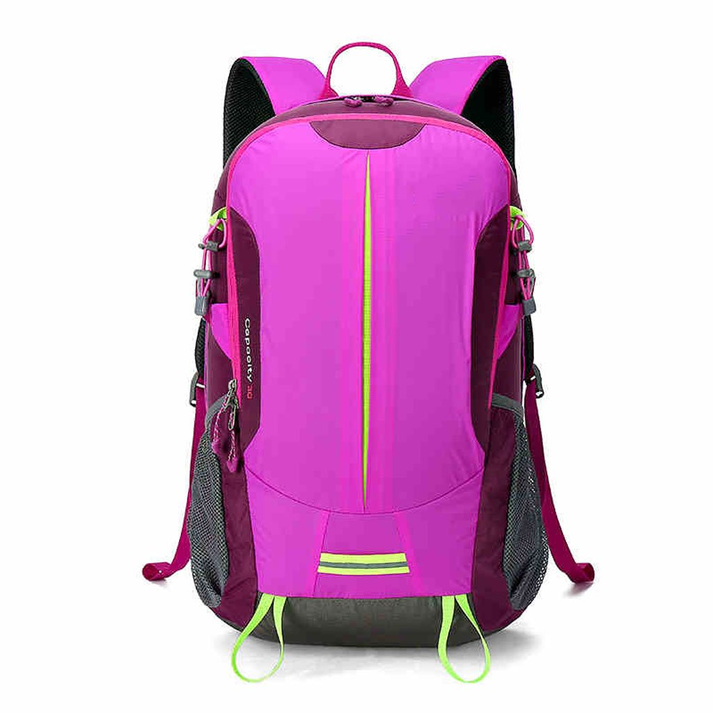 CS屋外ハイキングバックパック30L男性と女性のダブルショルダーバッグ ( Color : Rosy )  Rosy B078GLKT6S
