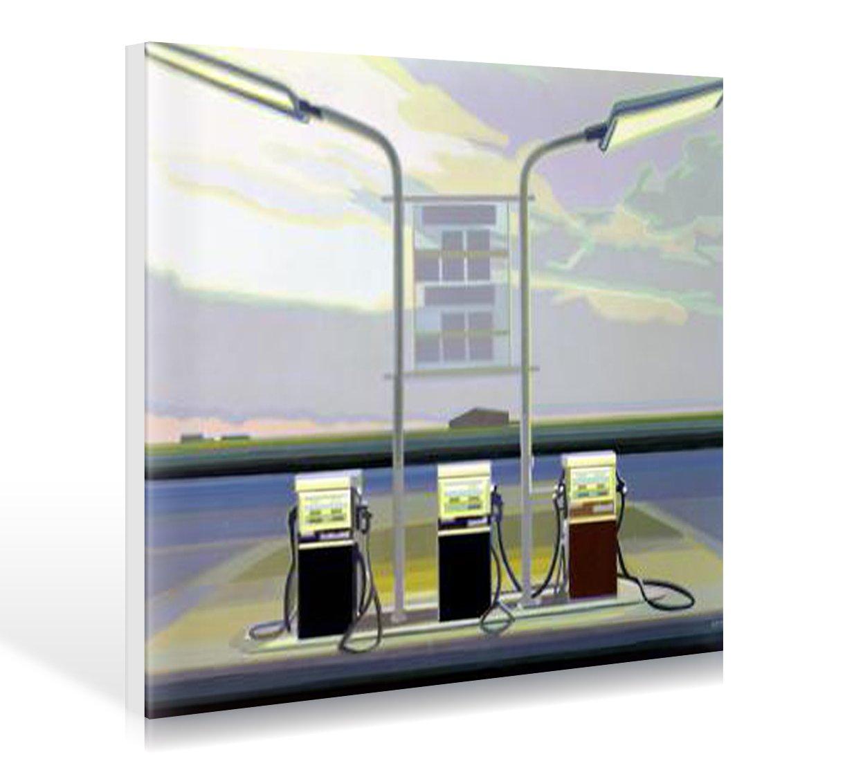 Amazon.de: Bild mit Rahmen Werner Opitz - Texas Morning - Holz blau ...