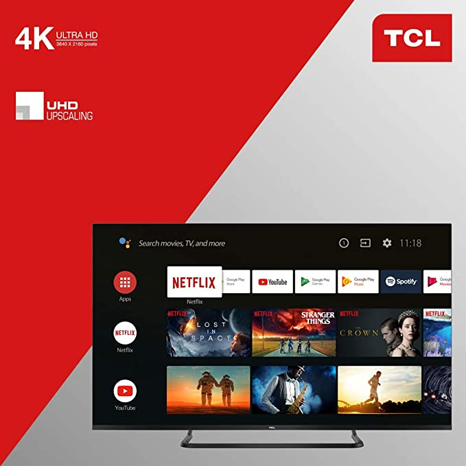 TCL - TV LED 65EP681 Android TV: Amazon.es: Electrónica