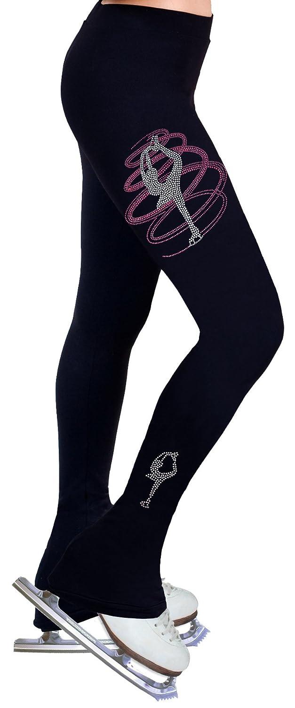 NY2 SPORTSWEAR Figure Skating Practice Pants with Rhinestones R255RP