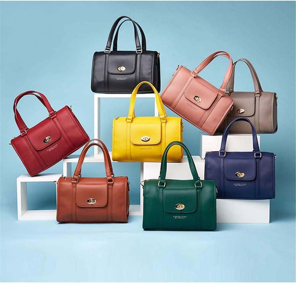 LHY EQUIPMENT Semplice Elegante Borsa Tote Bag Impermeabile Borsa da Donna Pelle Sintetica Alta capacità per Lo Shopping/Incontri/Banchetti Nero