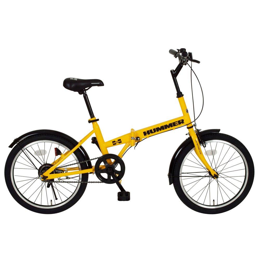 HUMMER 自転車 FDB20R 折畳 折り畳み 折畳自転車 20インチ (イエロー ) mg-hm20r-ye B00UA3IZFE
