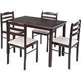 Royal Oak Hunter Four Seater Dining Table Set (Black)