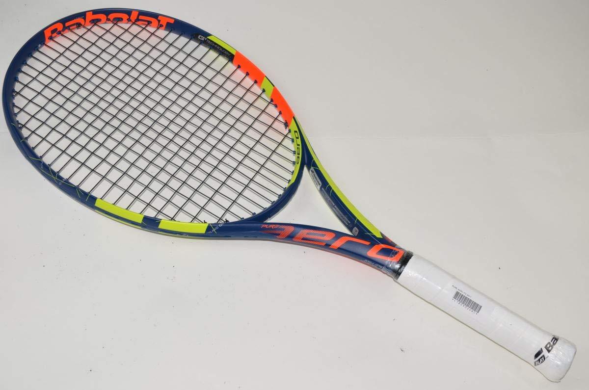 【中古 テニスラケット】 バボラ ピュア アエロ フレンチオープン 2017年モデル (BABOLAT PURE AERO FO 2017)(グリップサイズ:G3) B07JQK1PYH