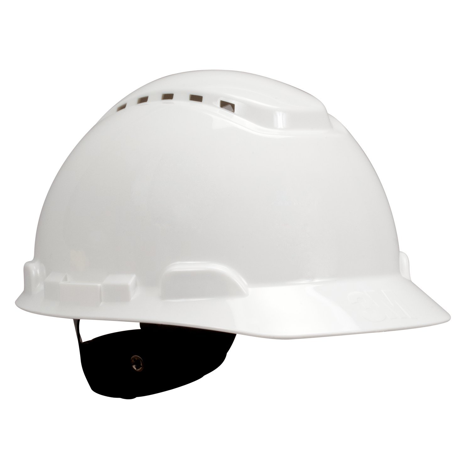 H-700 Series Vented Hard Hats with 4-Point Ratchet Suspension
