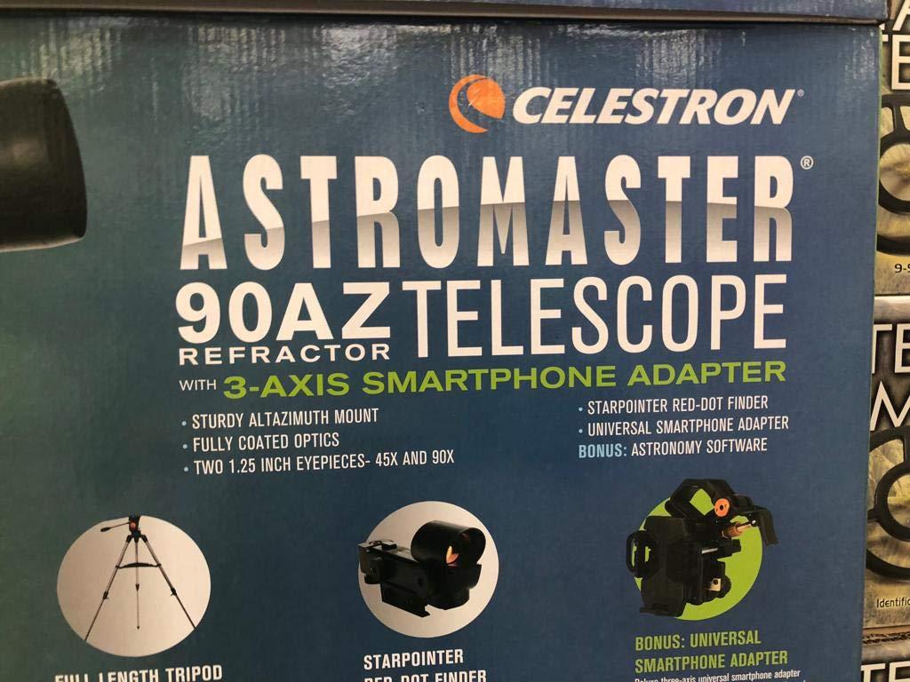 Celestron astromaster az refraktor teleskop mit amazon kamera