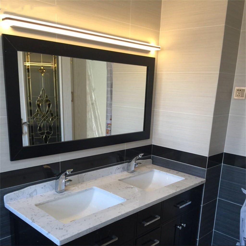 LYP-Badbeleuchtung | Badspiegellampen Spiegel Frontleuchten Badezimmer Wandleuchte LED Einfache Moderne Toilette Schminktisch Wasserdichte Spiegel Schrank Beleuchtung Bad Warmes Licht-12w/50cm