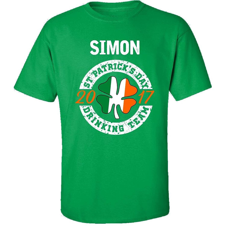 Simon St Patricks Day 2017 Drinking Team Irish - Adult Shirt