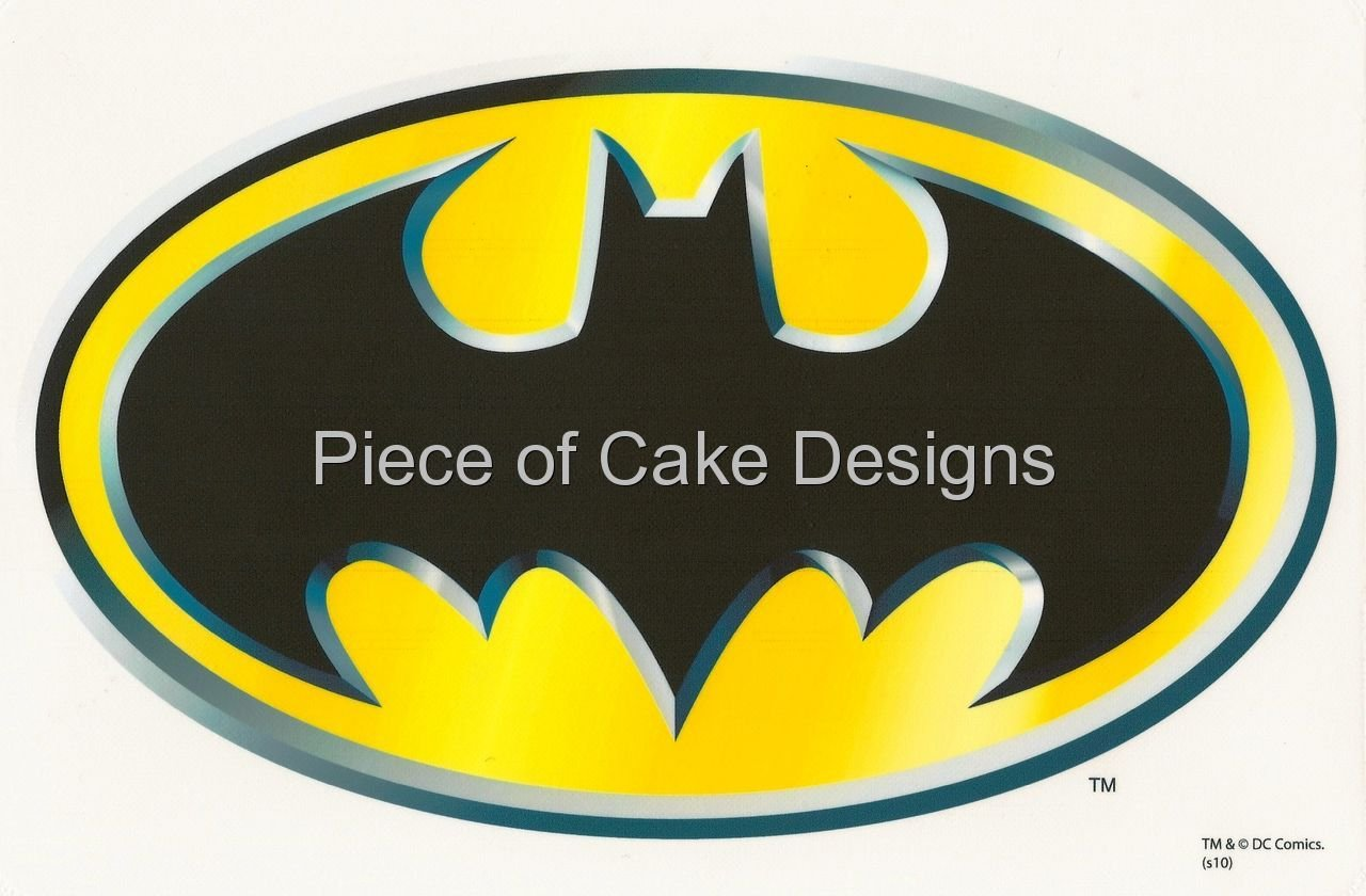 1/4 Sheet ~ Batman Classic Logo ~ Edible Image Cake/Cupcake Topper ...