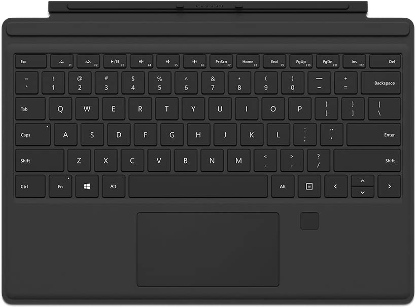 Microsoft Surface Pro Type Cover with Fingerprint ID (Black)