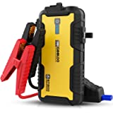 GOOLOO Car Jump Starter,1500A 12-Volt Battery Booster for Up to 8.0L Gas & 6.0L Diesel Engines,Portable Water-Resistant Car B