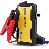 $79 » GOOLOO Car Jump Starter,1500A 12-Volt Lithium Battery Booster for Up to 8.0L Gas &…