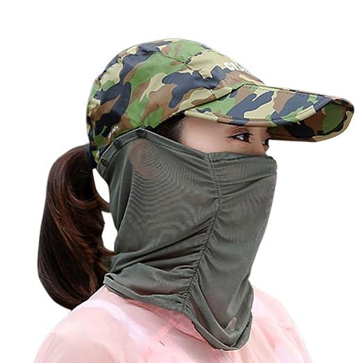 e59a4e87ba5 Summer Quick Dry Folding Wide Brim Sun Hat UV Block Face Protection Shield  Mask Head Tube